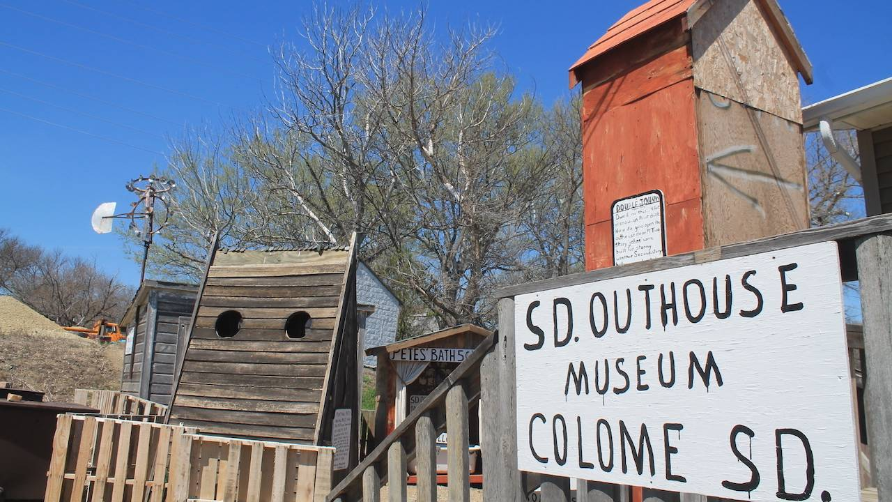 S.D. Outhouse Museum, Colome S.D.