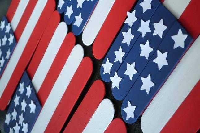 DIY American Flags