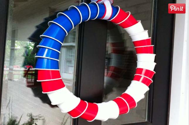 Cup Flag wreath