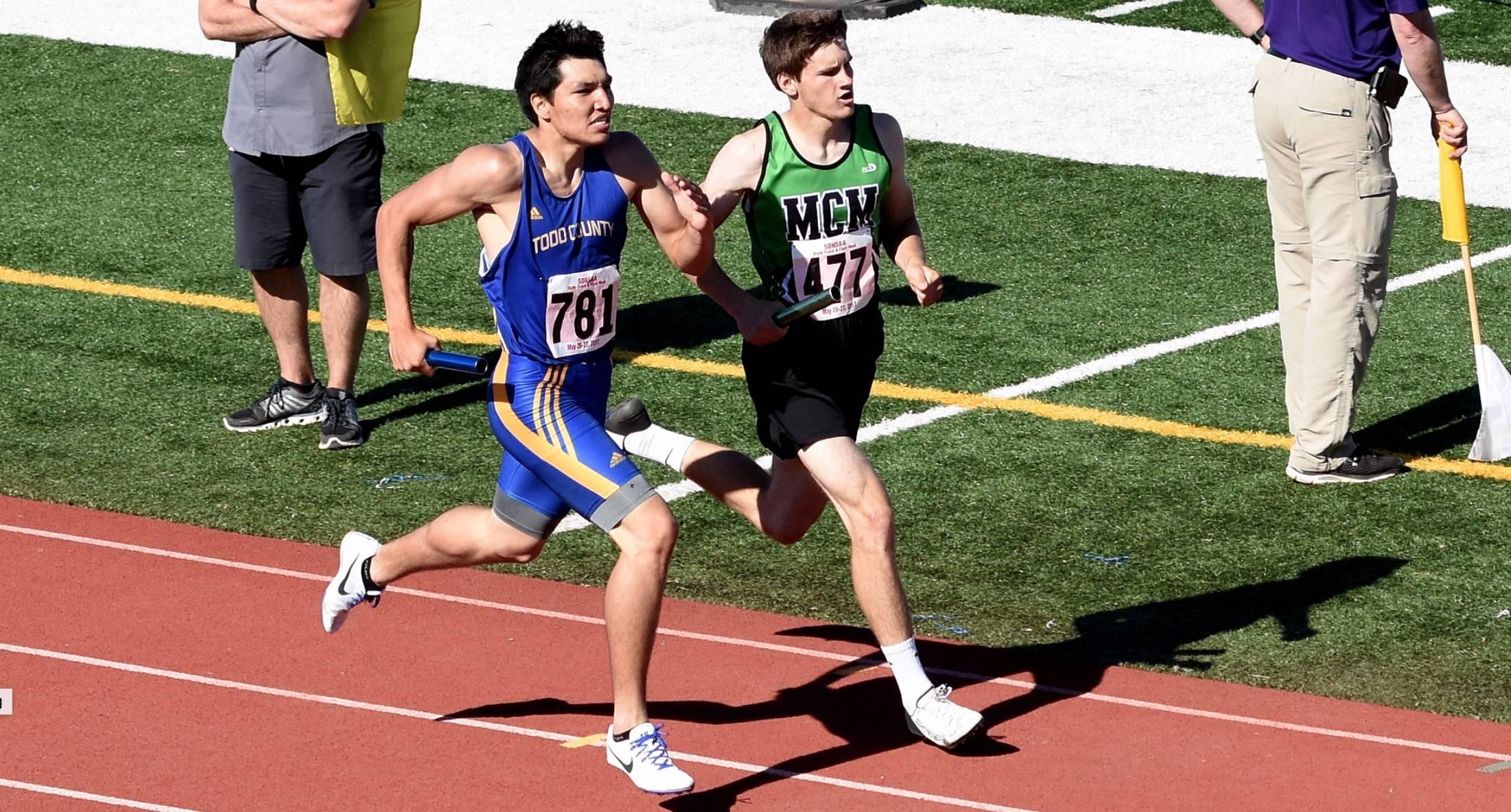 Track runners