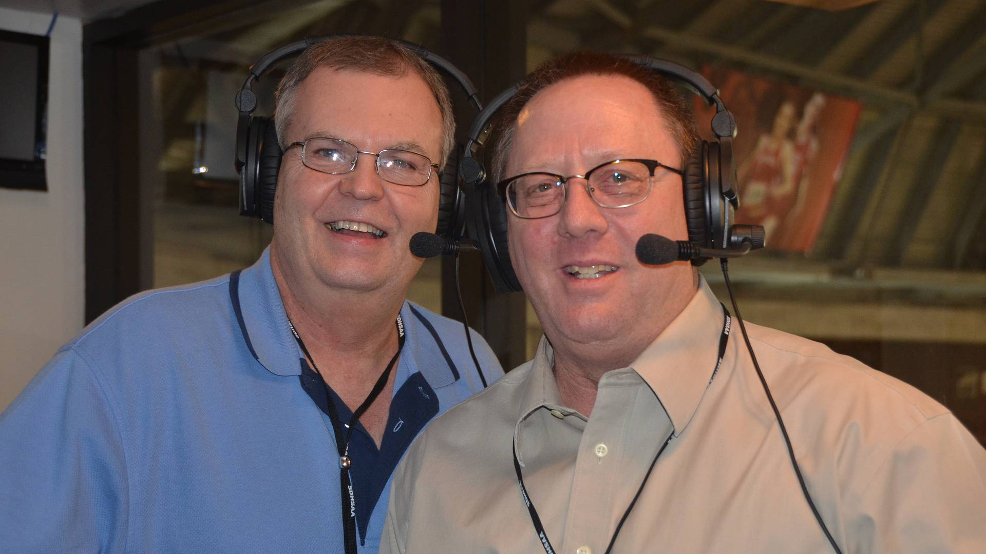 Photo of Mike Henriksen and Craig Mattick