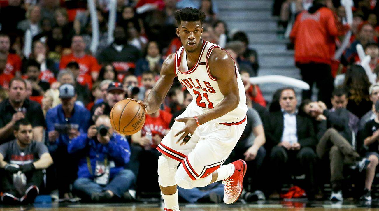 Picture of basketball player Jimmy Butler