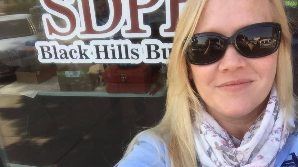 Lori Walsh at the new Black Hills Bureau.