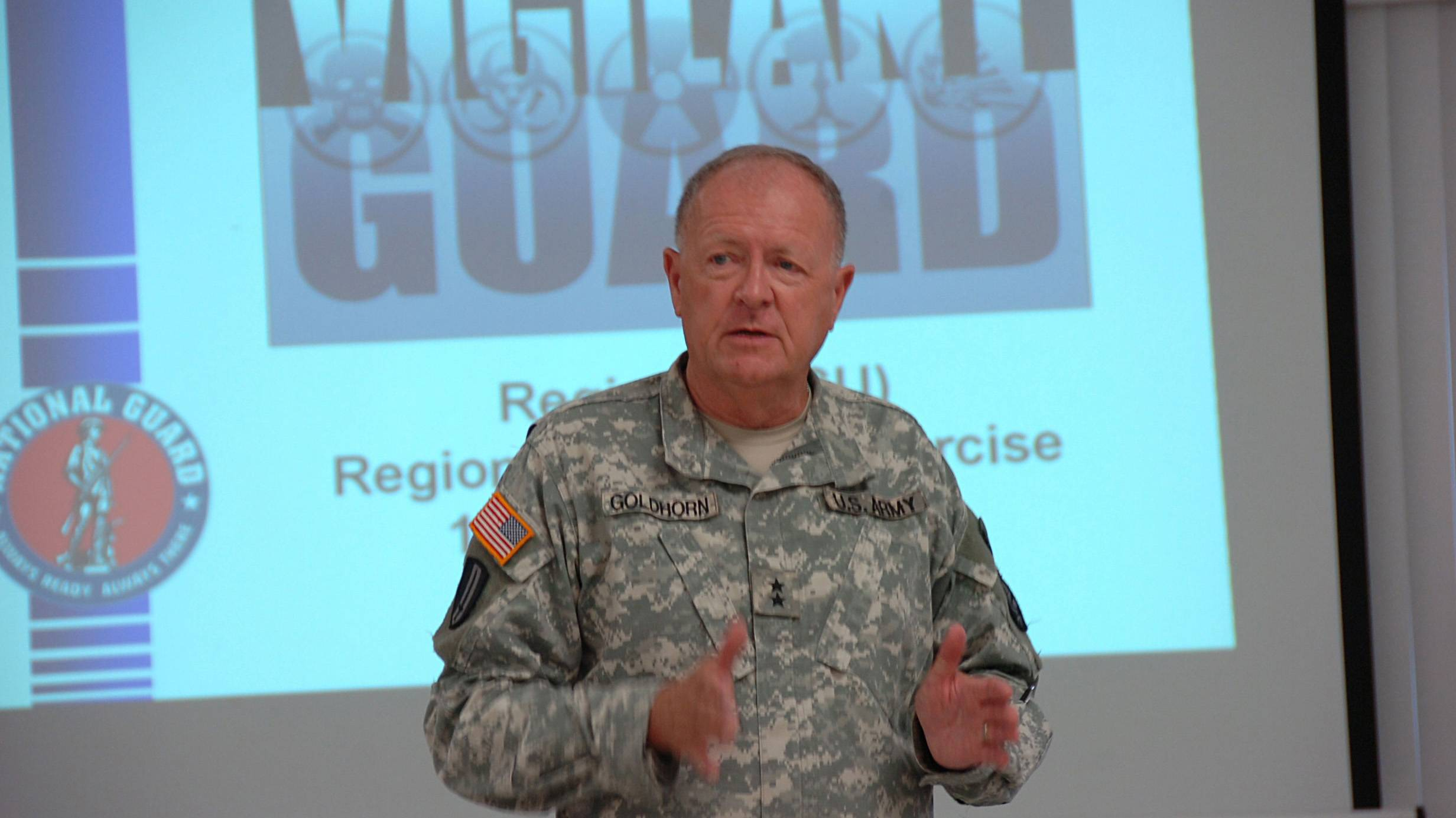 Major General Don Goldhorn
