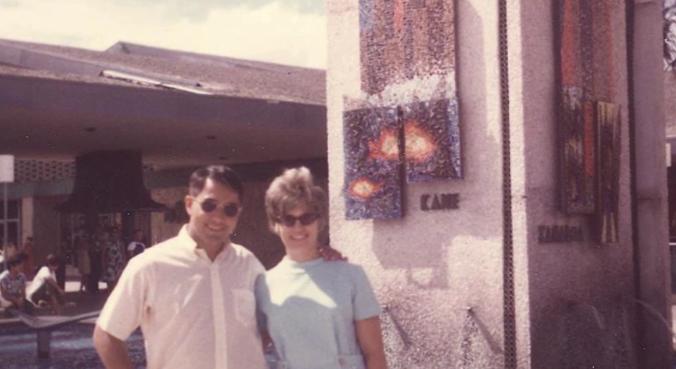 Clark Mola and wife Anita