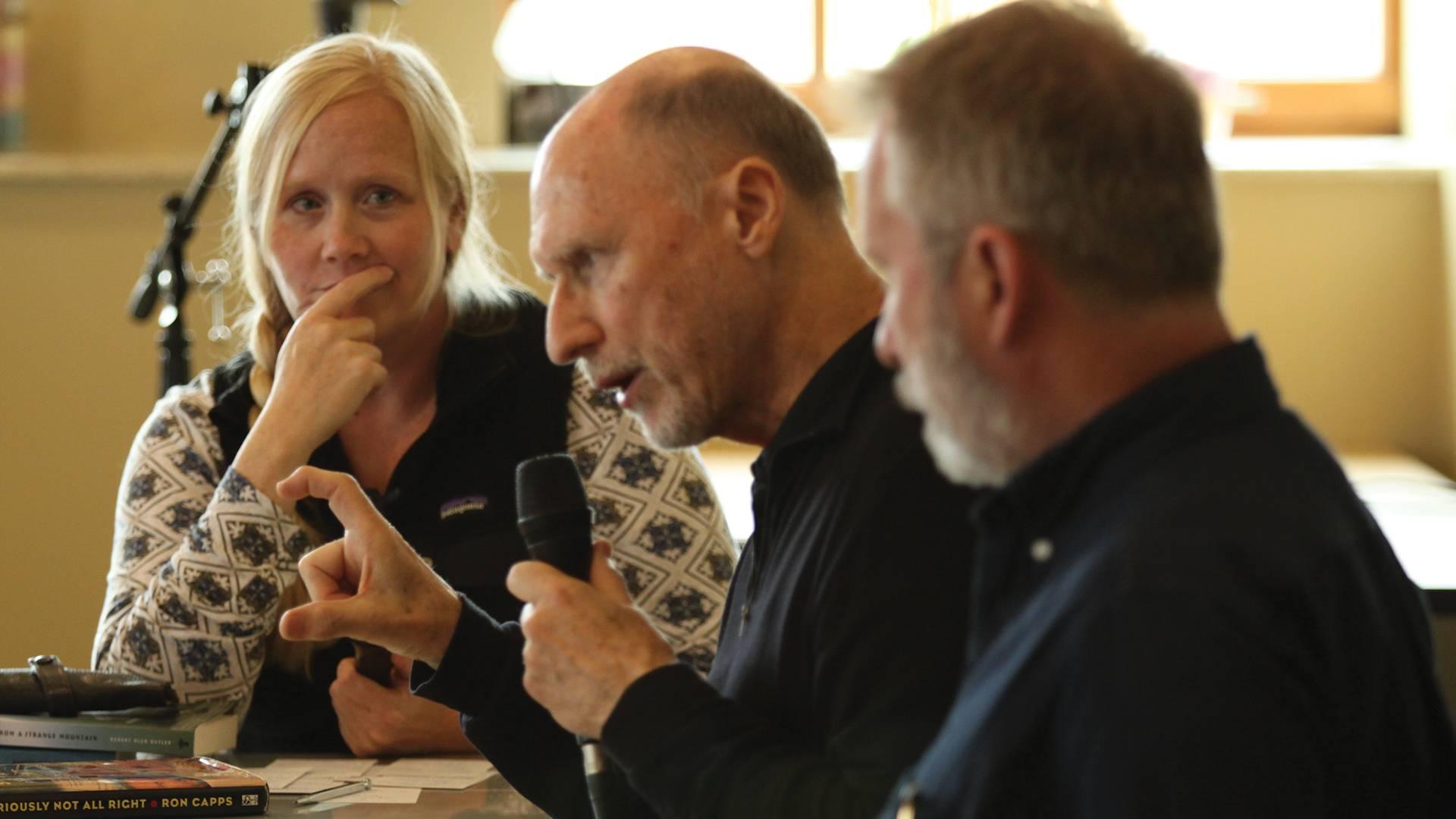 Walsh interviews Robert Olen Butler & Ron Capps.
