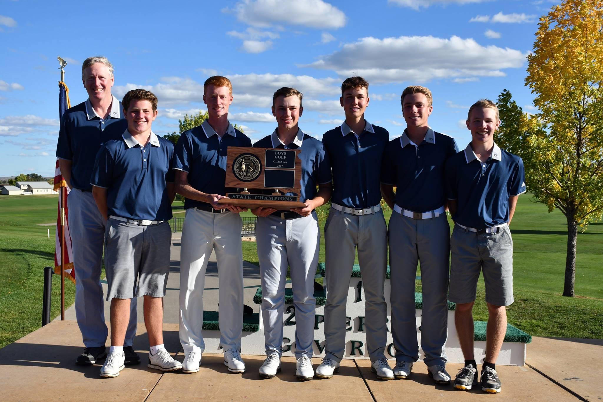 Sioux Falls O'Gorman boys golf team