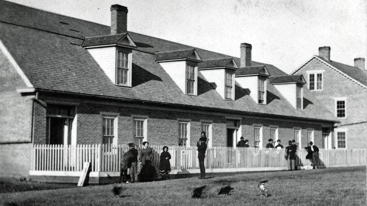 Outpost during the Civil War