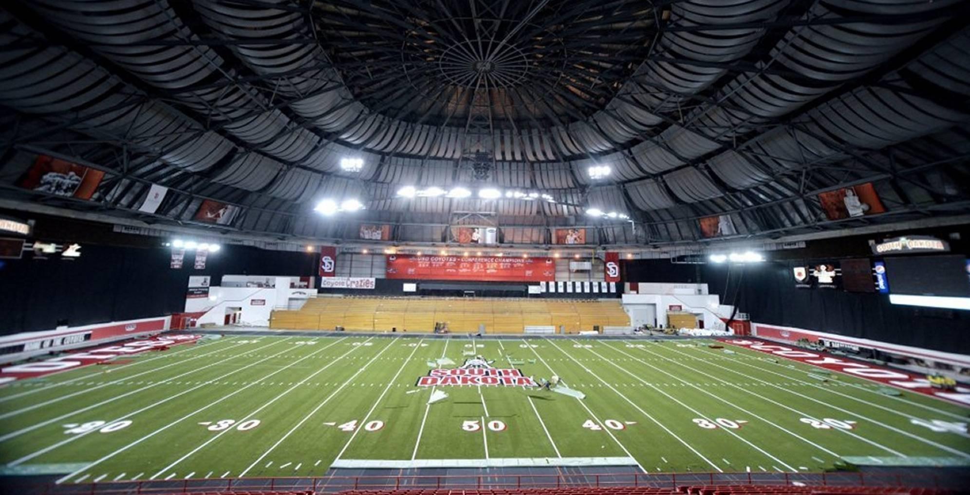 University of South Dakota Dakota Dome