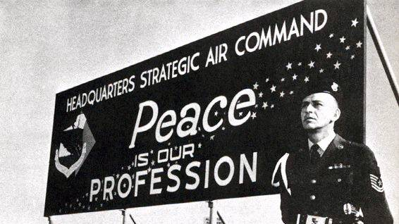 Billboard for Headquarters Strategic Air Command