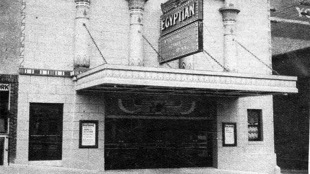 The Egyptian movie theater, Sioux Falls