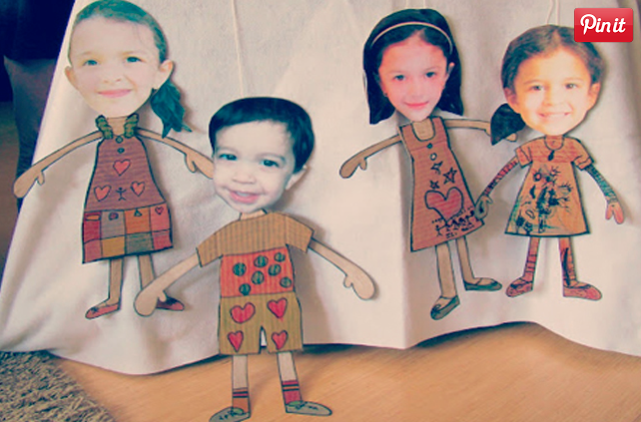 family string puppets