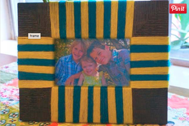 Wrapped Picture Frame