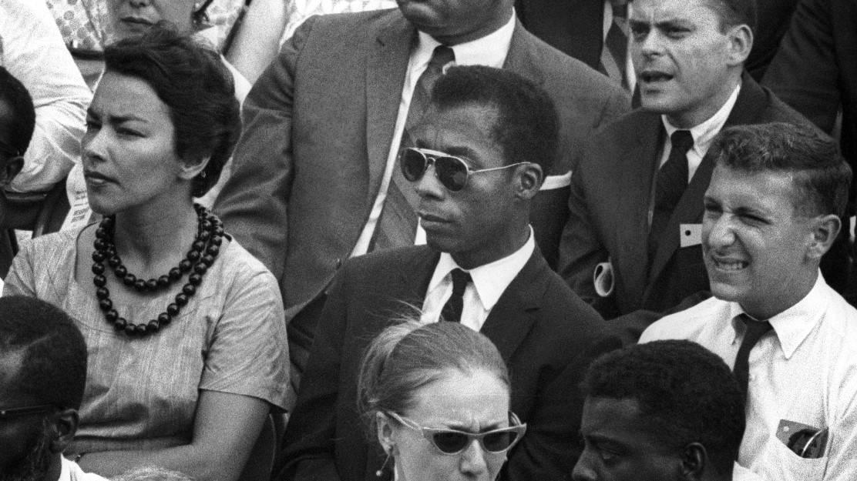 James Baldwin at March on Washington, Aug. 28, 1963.