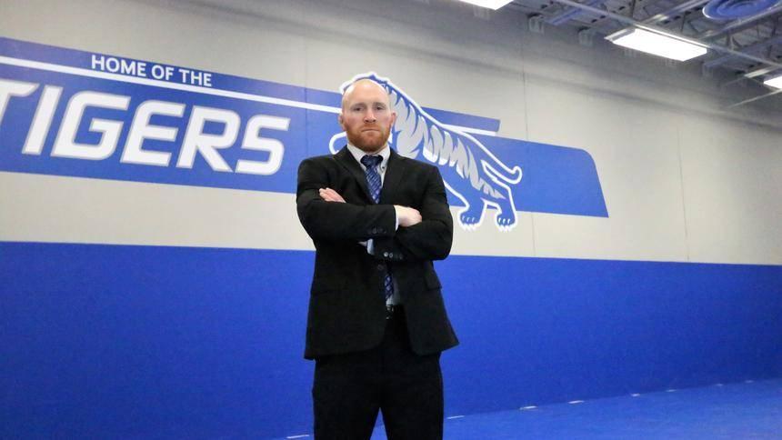 Casey Mouw, 12th head wrestling coach in DWU history