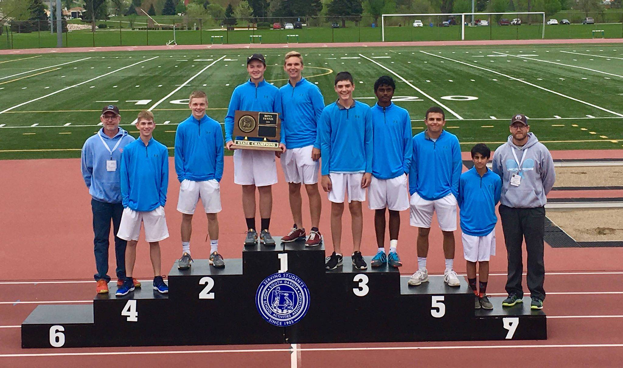Sioux Falls Lincoln boys tennis championships