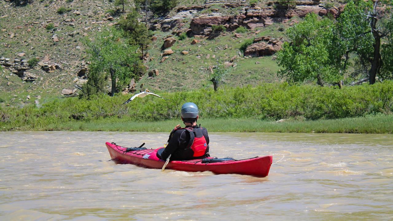 Kayaking in the Black Hills