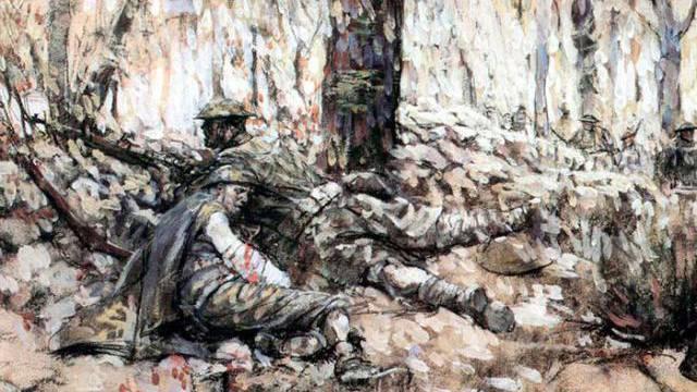Harvey Dunn's painting