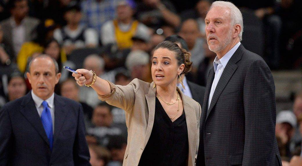 Photo of Becky Hammon