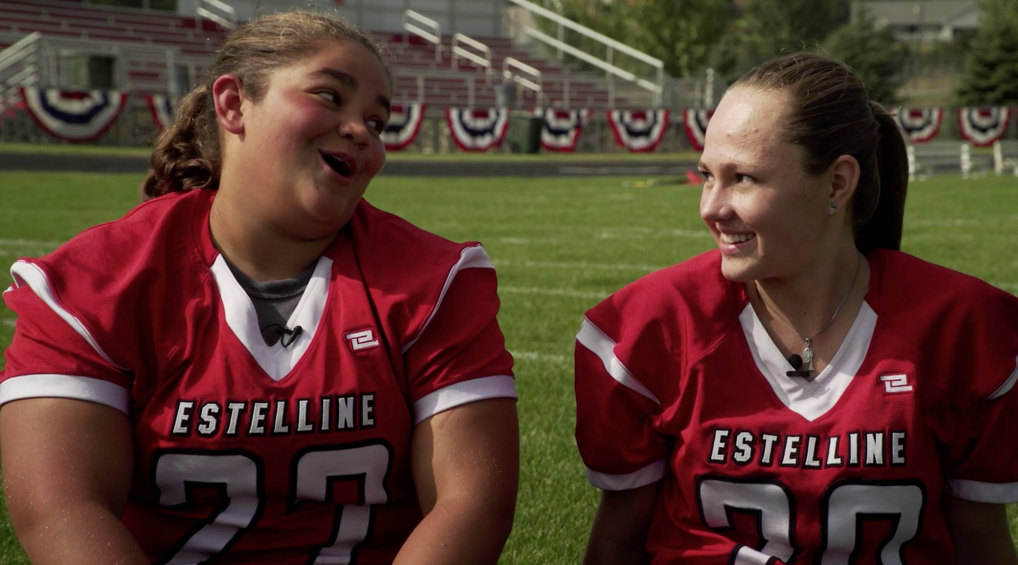 Estelline's Christine and Kaytlyn