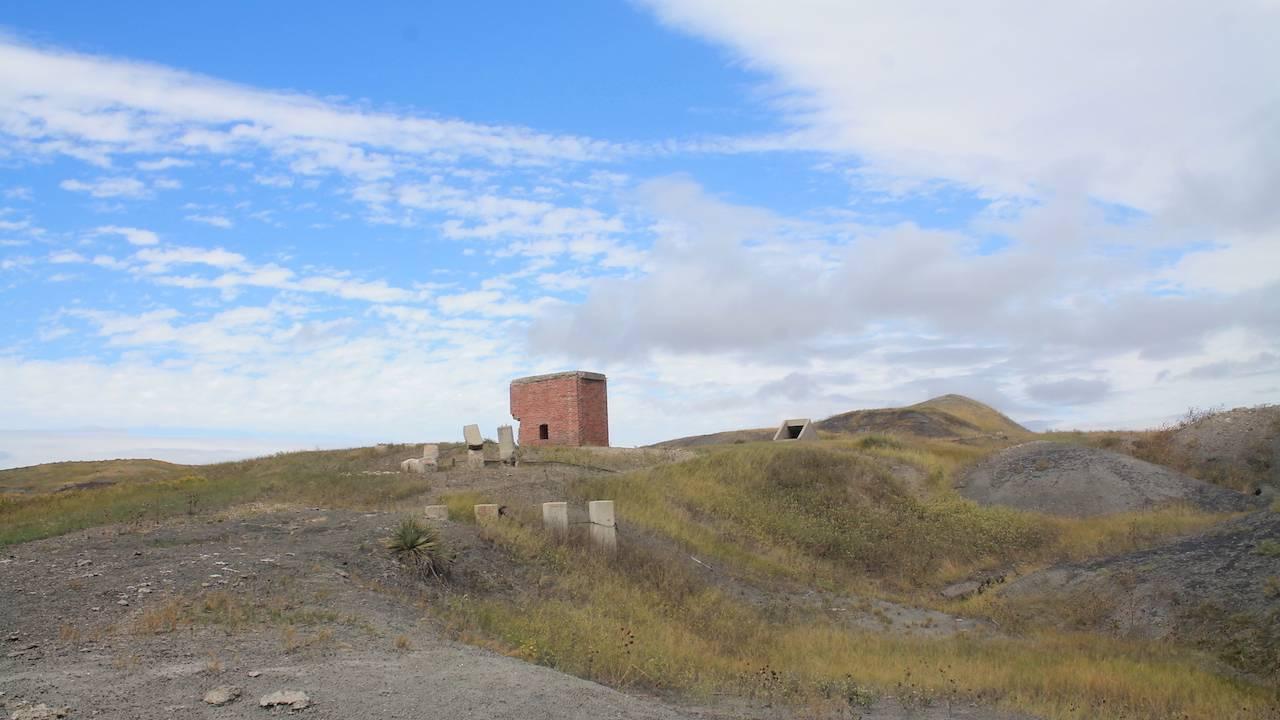 Ruins off I-90