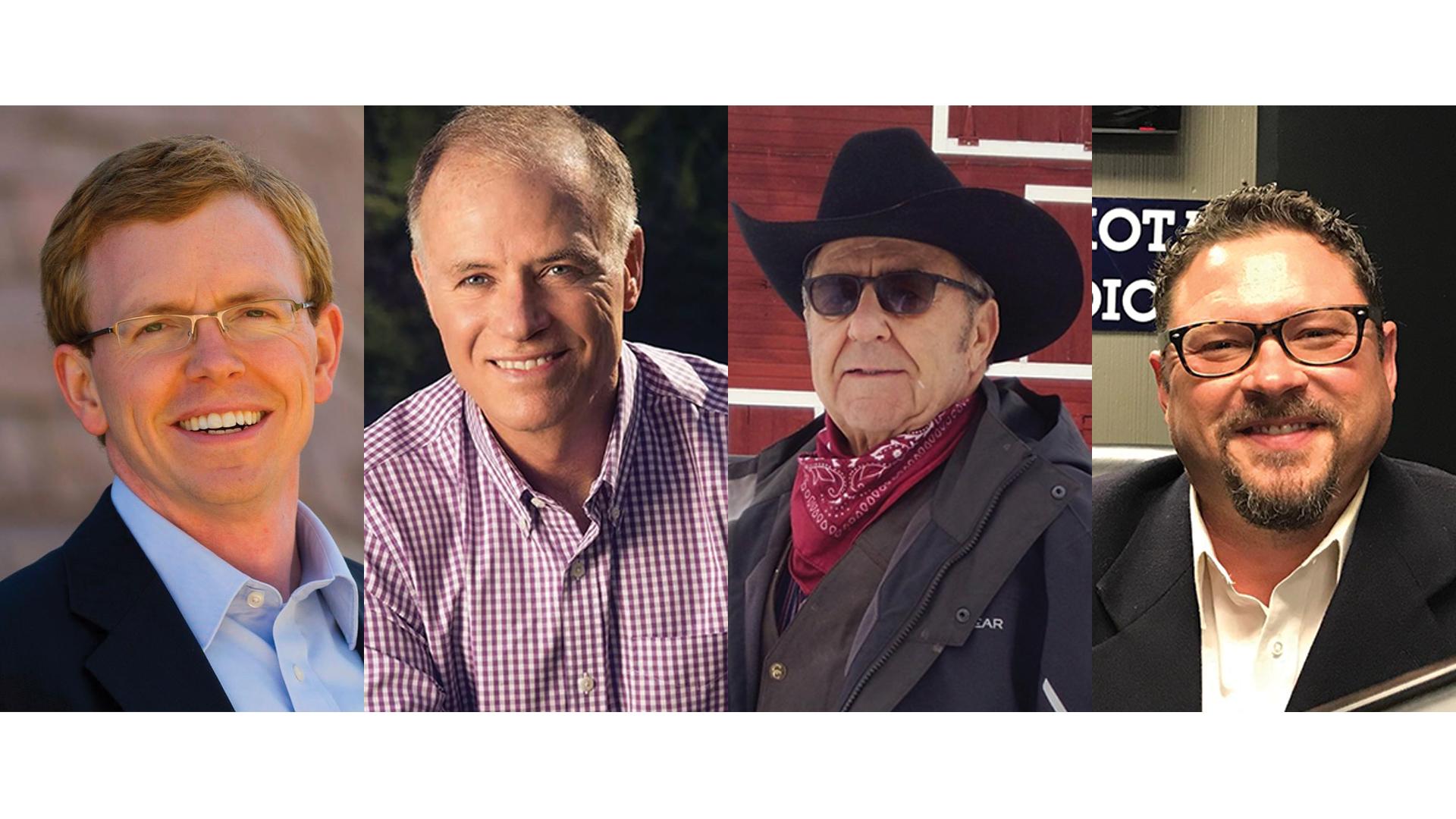 Dusty Johnson, Tim Bjorkman, Ron Wieczorek and George Hendrickson