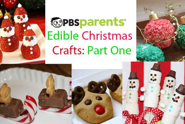 edible Christmas crafts