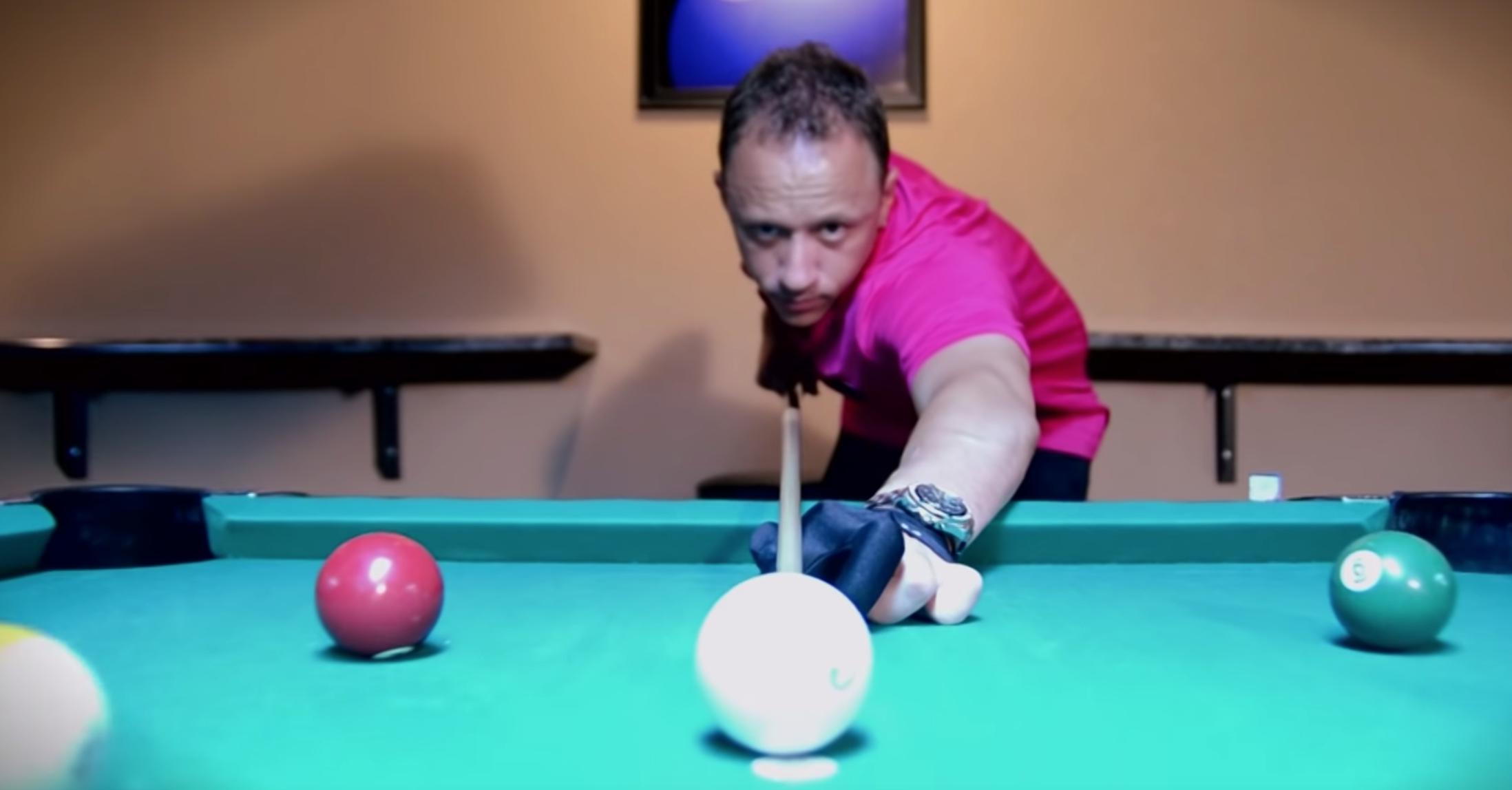 Pool player Shane Van Boening