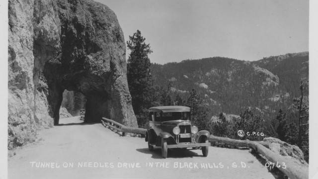 Tunnel, Needles Drive, Black Hills