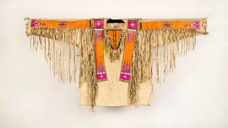 Decorated Native American shirt