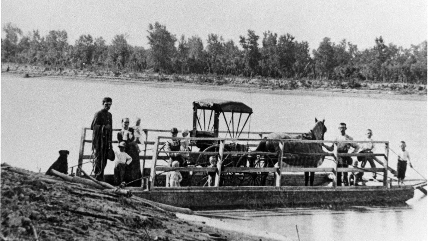 Brown's Ferry near Vermillion SD, 1888