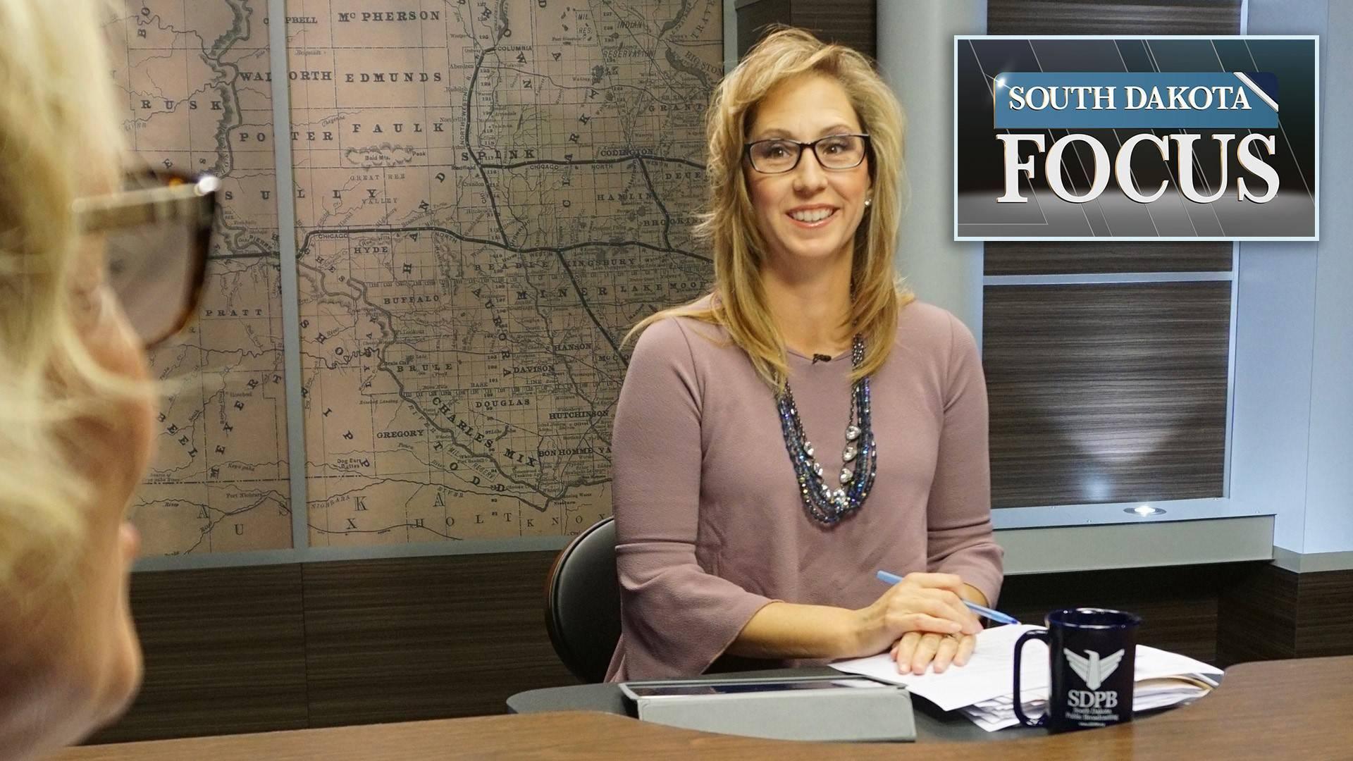 SD Focus host Stephanie Rissler.
