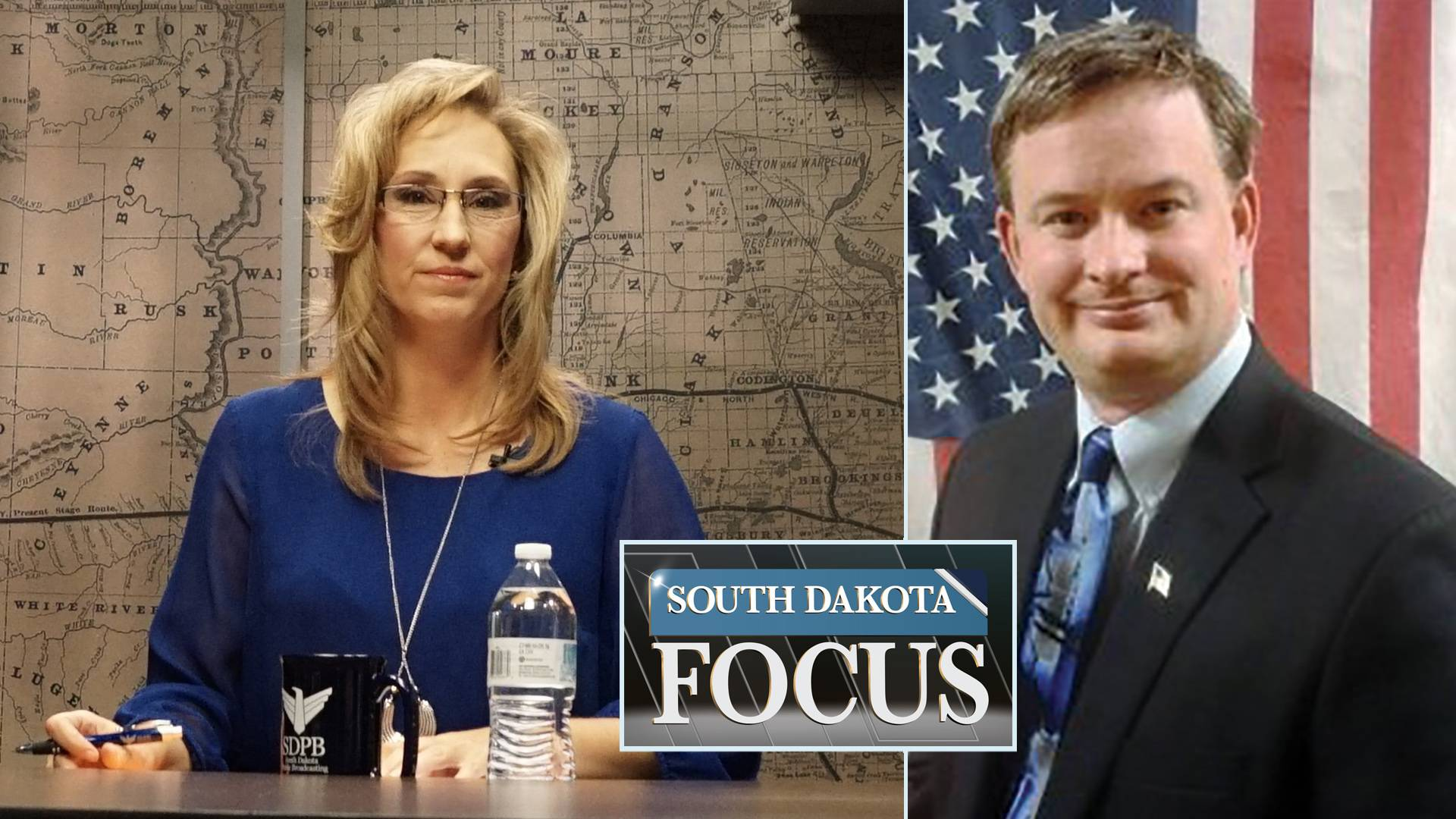 SD Focus host Stephanie Rissler and Jason Ravnsborg