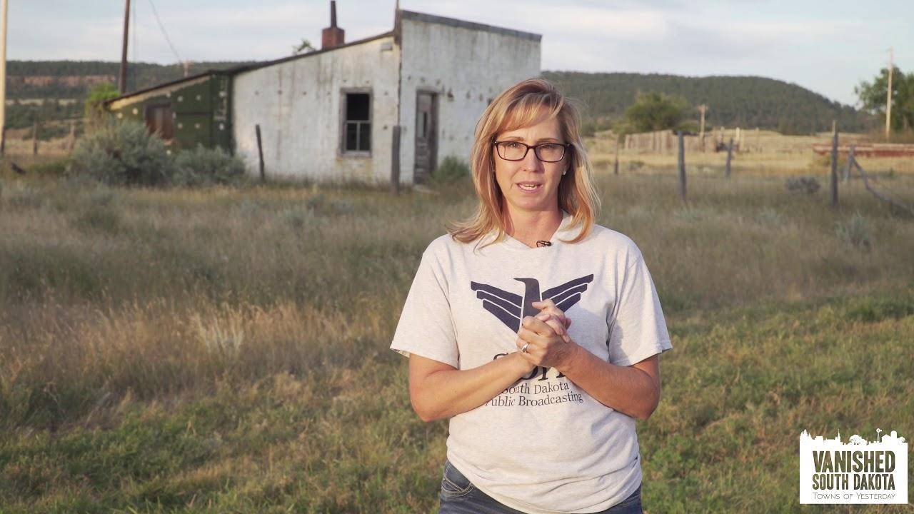 Steph Rissler on location for VANISHED SOUTH DAKOTA doc.
