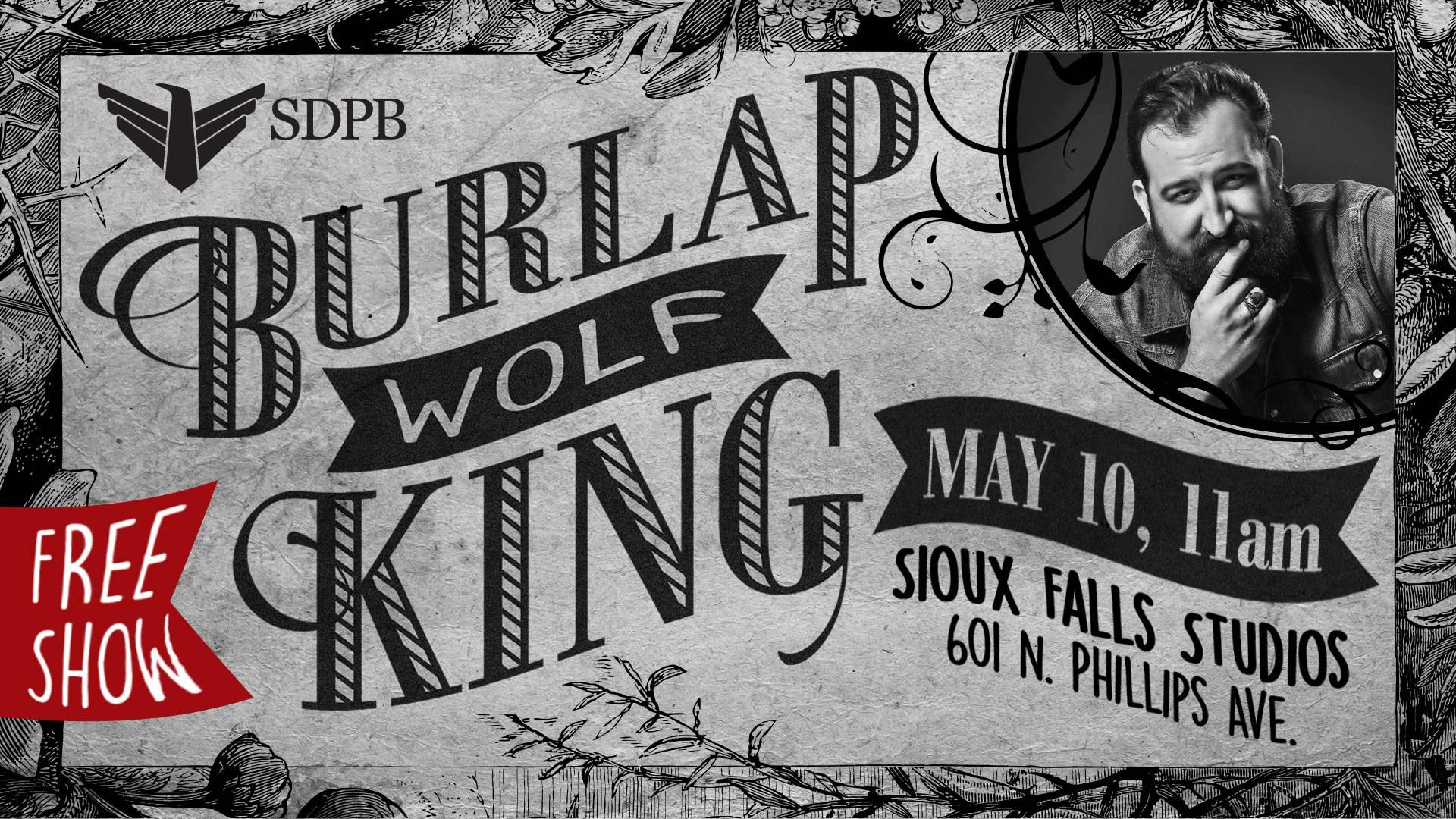 Burlap Wolf King