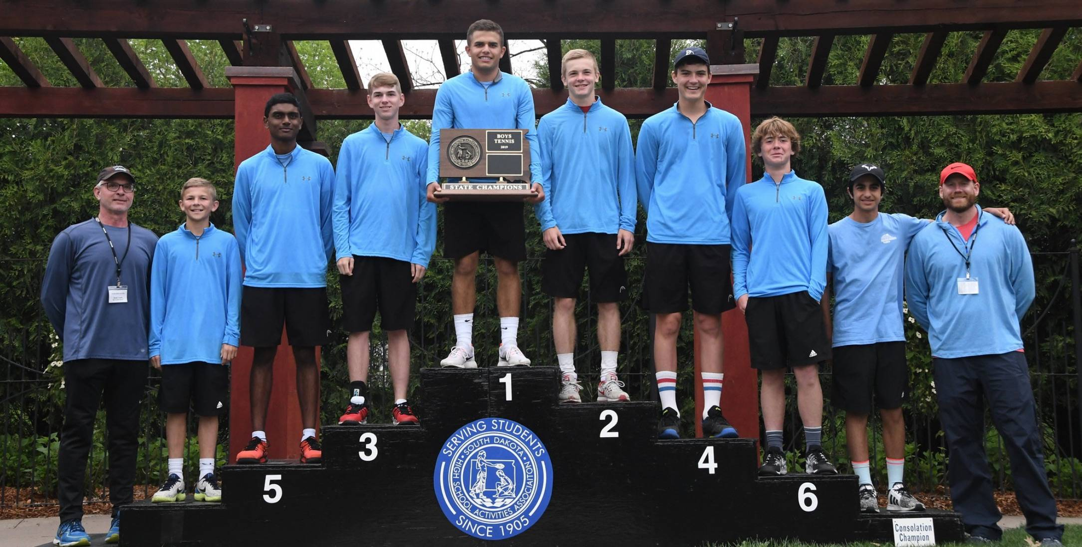 Sioux Falls Lincoln boys tennis team