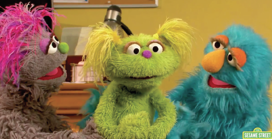 Characters from Sesame Street