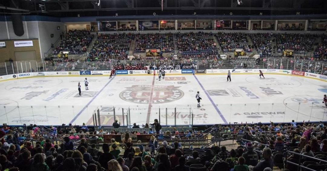 Photo of Rapid City Rush hokey arena