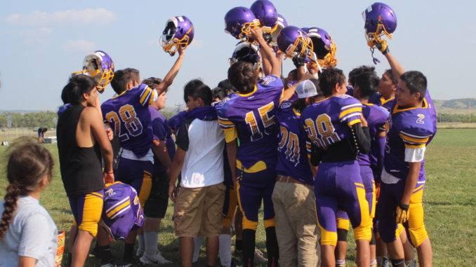 Lower Brule football team