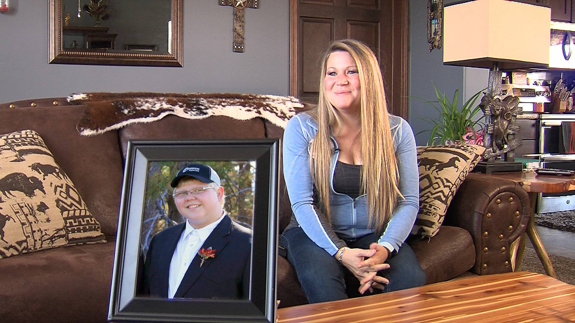 Roxanne Vogelgesang shares her son's legacy