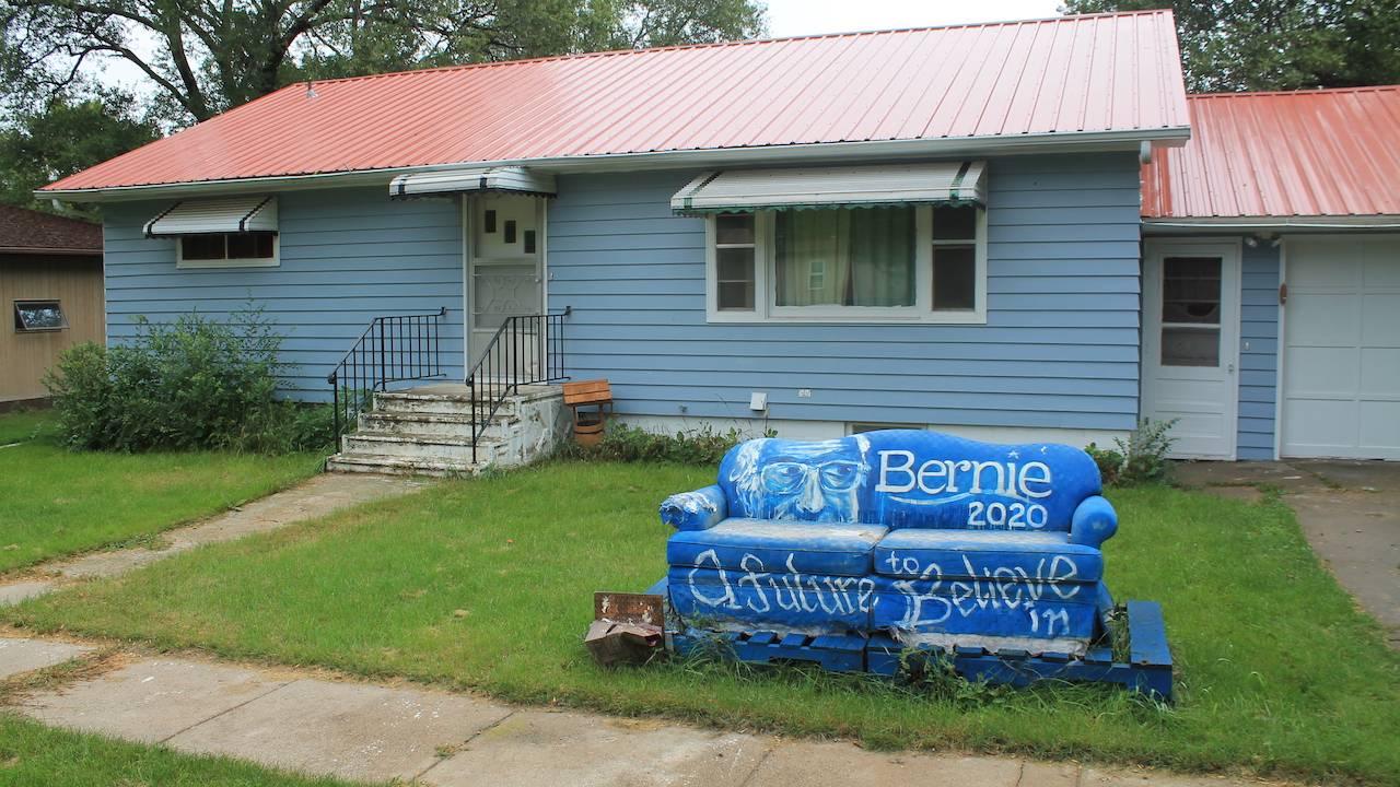 Bernie Sanders couch