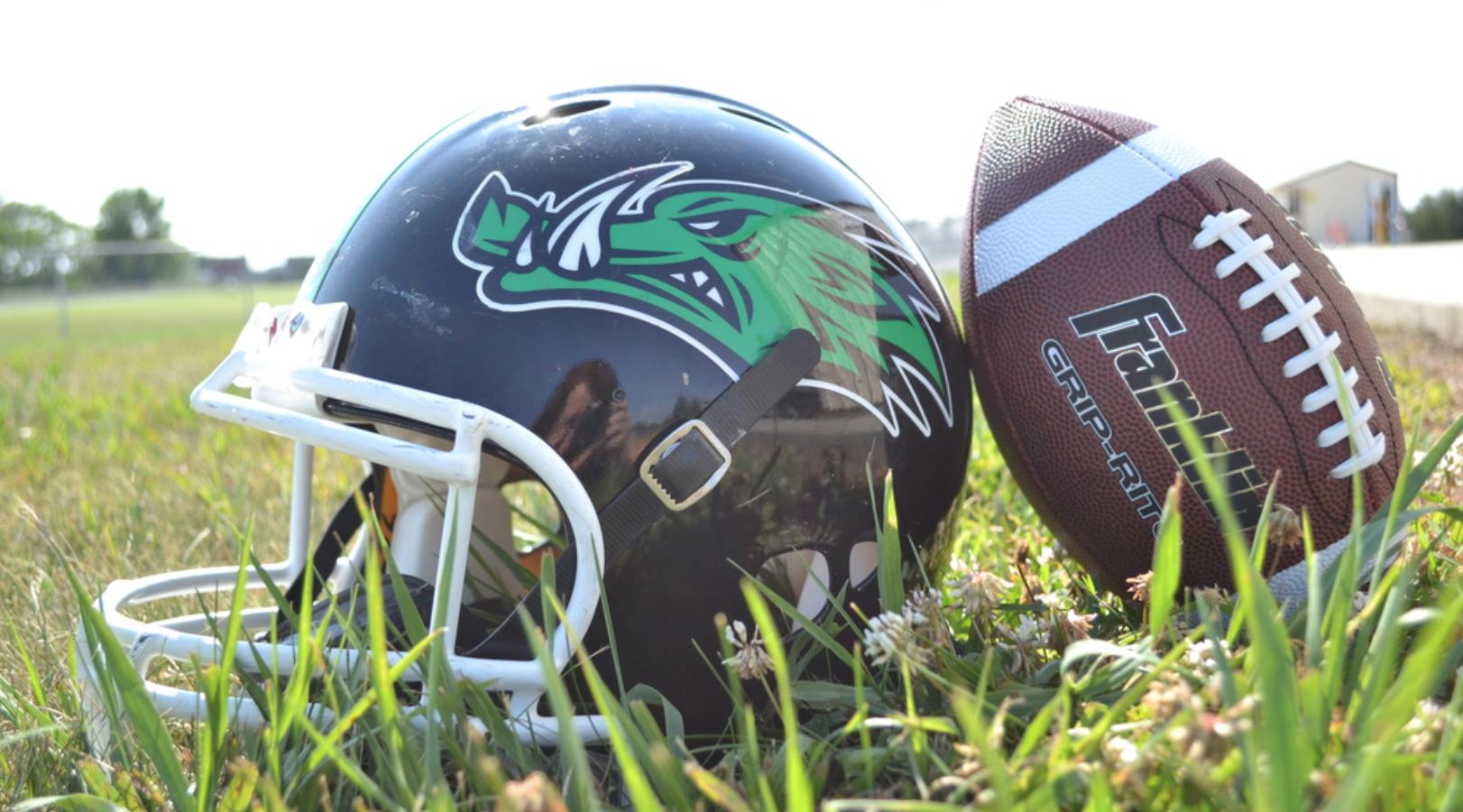 Menno- Marion football helmet