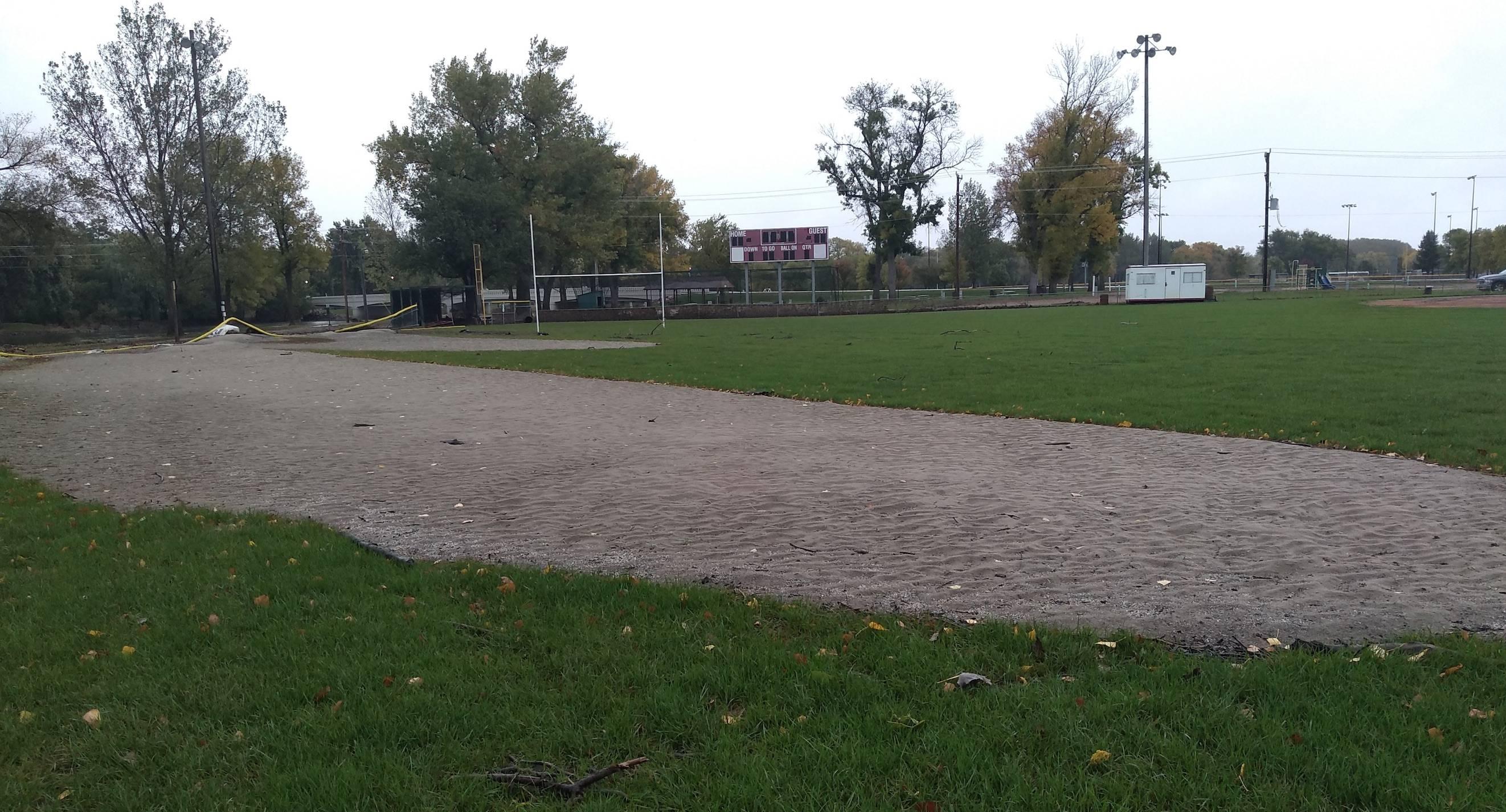 Dell Rapids football field