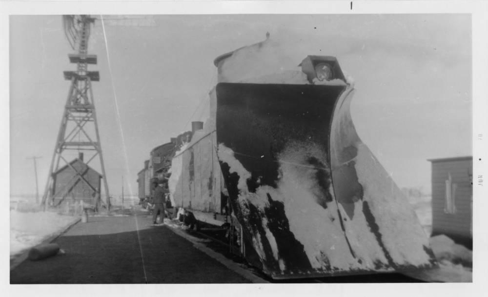 Image - Chicago and Northwestern RR Snow Plow Train Herrick.jpg