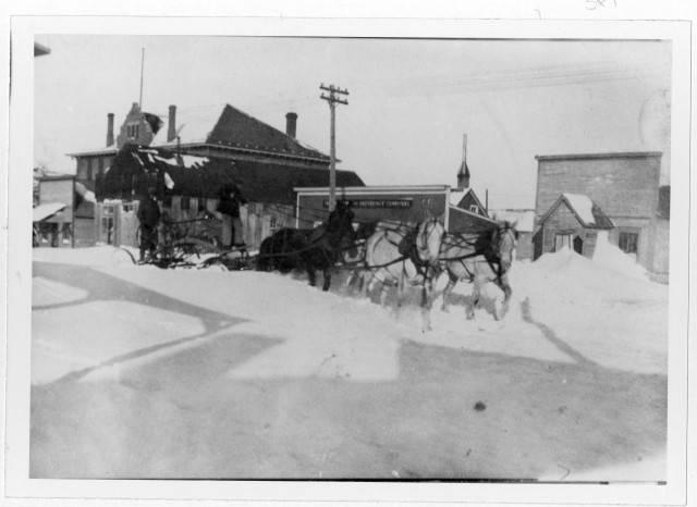 Image - Horse Drawn Snow Plow Ft Pierre.jpg