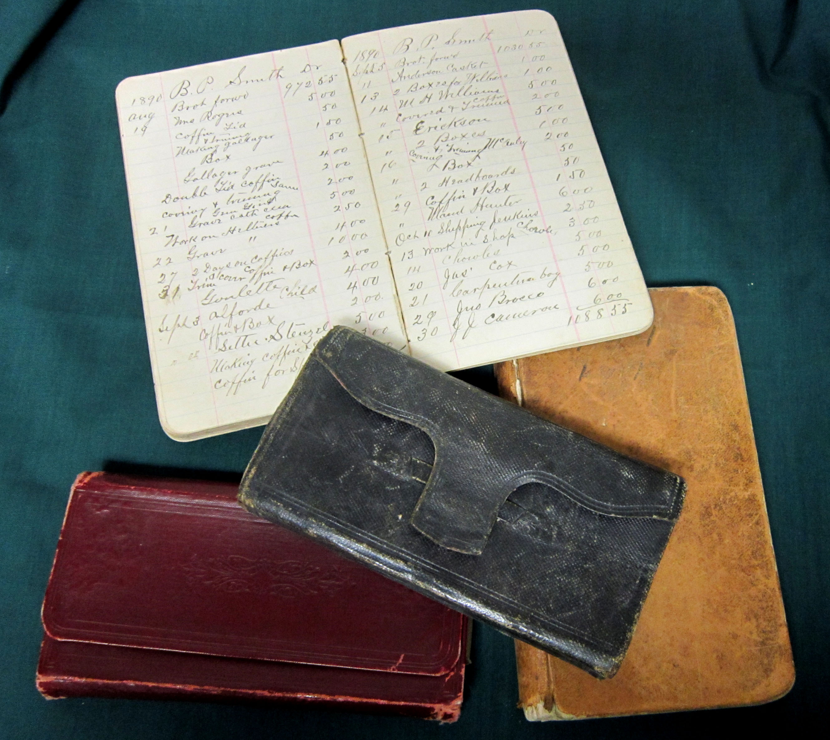 Image - Four Ledger books.JPG