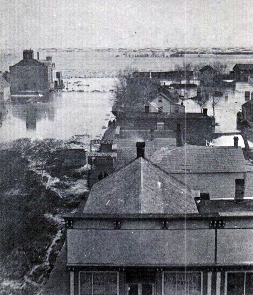 Image - Missouri River Flood 1881 Capital St.JPG