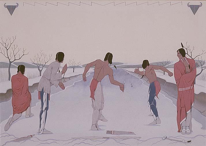 Image - Oscar Howe snow_skate.jpg