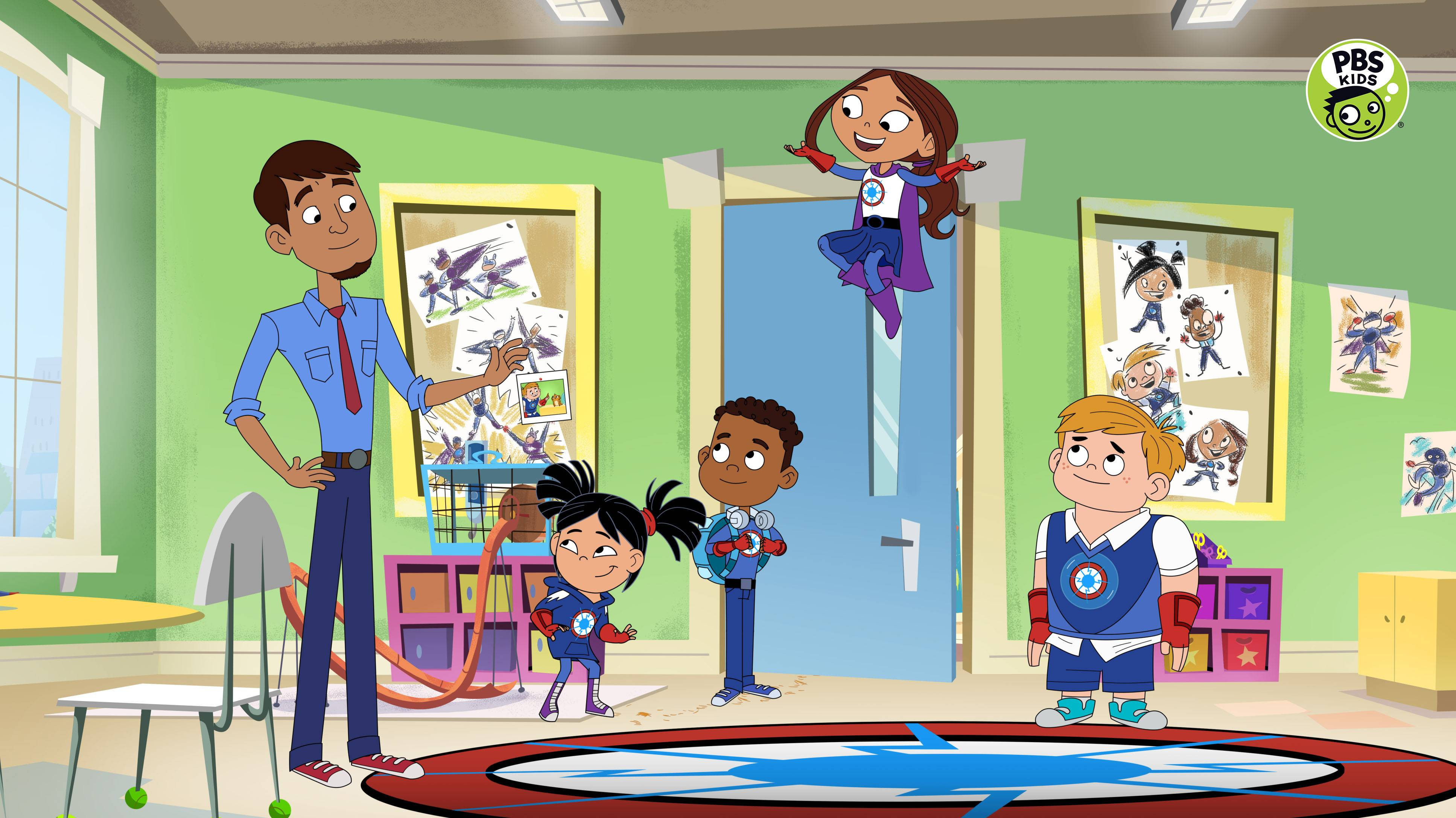 Pbs Kids Announces New Series Hero Elementary Premiering Summer 2020