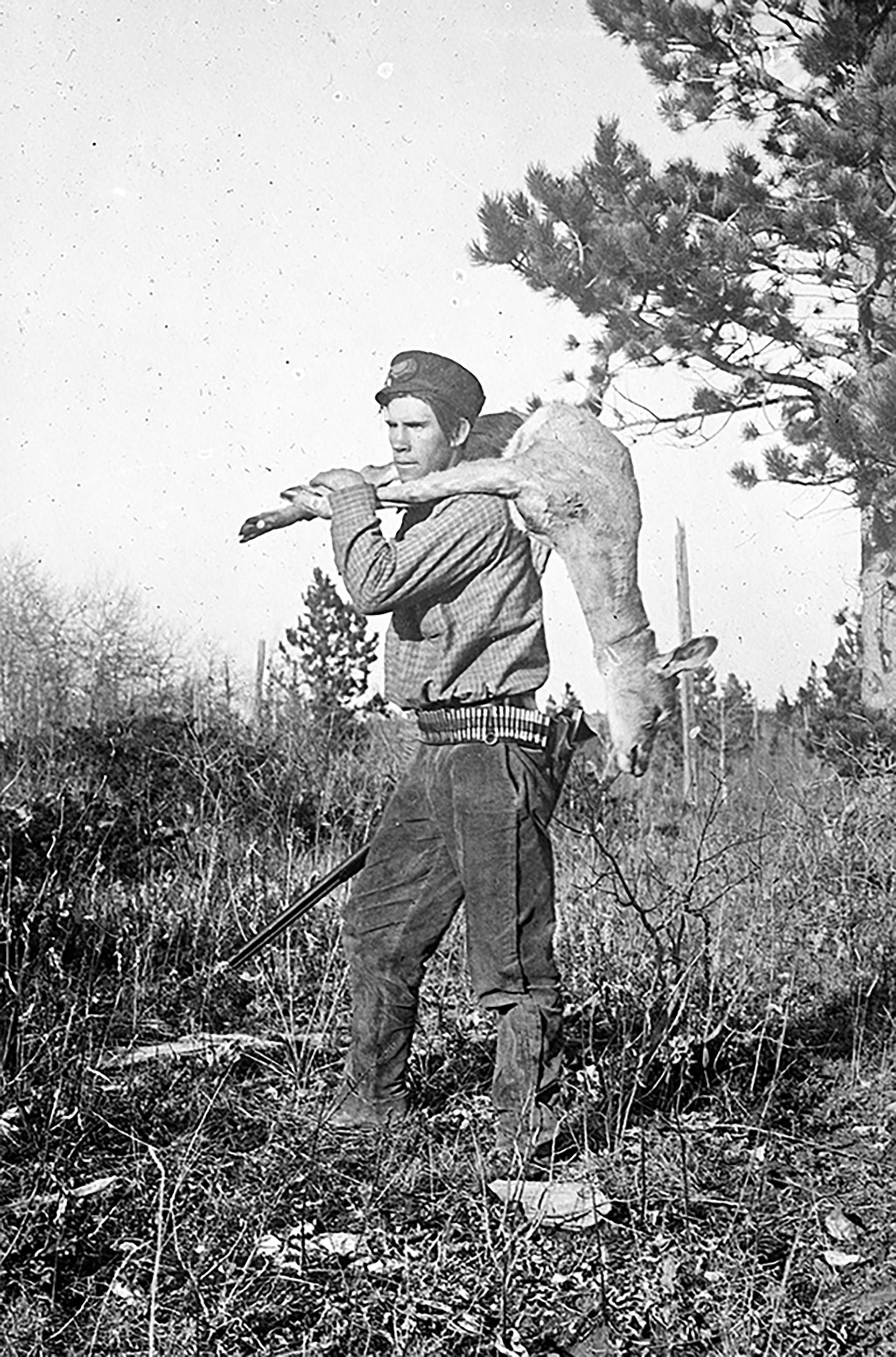 Image - Fred Farrar Self Portrait Hunting Circa 19055.jpg